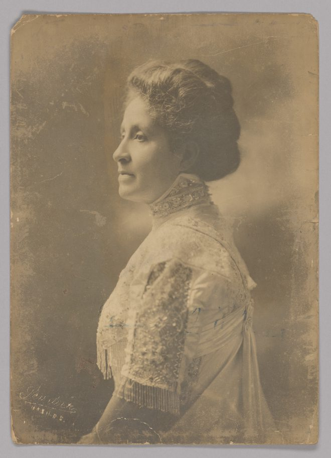 a photograph of Mary Church Terrell