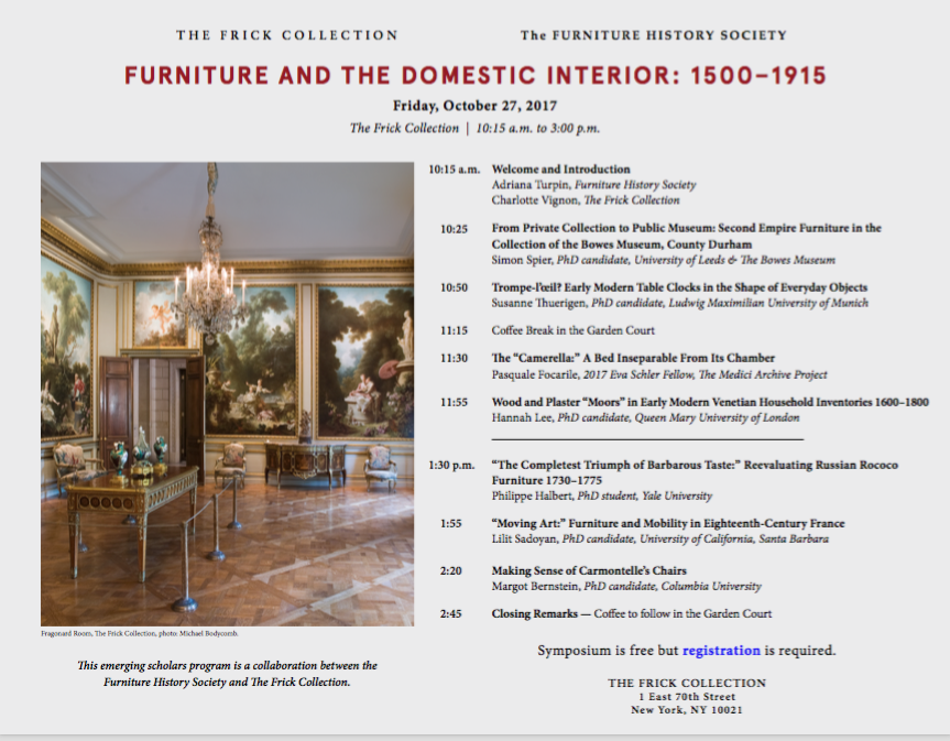 New York NY 10021 Furniture And The Domestic Interior Download Print Program