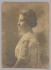a photograph of Mary Church Terrell